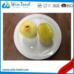 Wholesale White Porcelain Buffet Flat Plate Dish