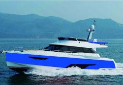 Hq50FT 12 Seats Luxury Yacht Speed Boat Aluminum Hull 20 Knots