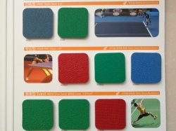 High Quality Basketball / Volleyball / Table Tennis Court Use PVC Sports Flooring