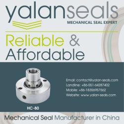 HC-80 Cartridge Mechanical Seal for Power Plants, Alumina Plants, Flue Gas Desulphurization, Deashing System and Slurry Pumps
