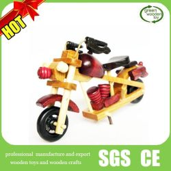 Antique Wooden Motorbike, Wooden Craft Motorbike, Craft Wooden Motorbike