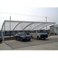 Waterproof Tensile Membrane Structure Shade for Car Parking