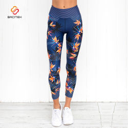 ced8fc485ecc1 Wholesale Colorful Athletic Yoga Fitness Sublimation Leggings Printed for  Women
