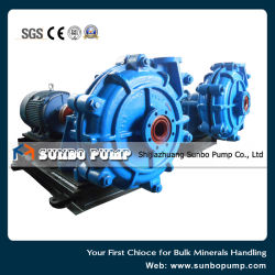 End Suction Horizontal Centrifugal Split Casing Slurry Pump Equipped with Motors 100HS Model