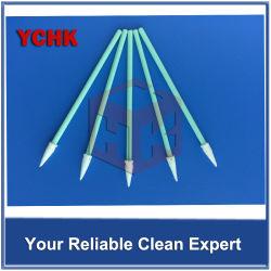 Lint Free Mini Head Dust Free Absorb Solvent Cleaning Swab Stick