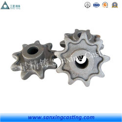ISO9001 OEM Alloy Steel Casting CNC Machining Precision Casting Parts