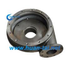 Sand Casting Pump Frame Casting Parts Steel Casting Customized
