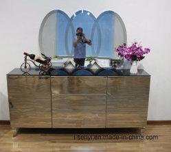 Modern 3 Floors Stainless Steel Sideboard with Multi Storey Drawer