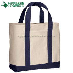 20c9be21a1d Wholesale Popular Organic Blank Large Two Compartment Canvas Tote Bags
