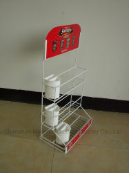 Supermarket Store Metal Wire Cup-Shaped Chocolate Snack Shelf Candy Display Rack
