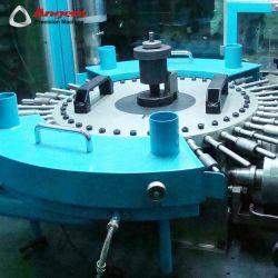 Automatic Glue-Smearing Machine Zg501 steel Bushing Rubber Tube Coating Equipment