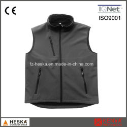 Wholesale Casual Safety Waistcoat Softshell Men Vest