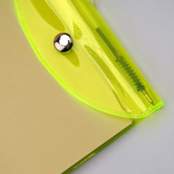 Hot Sale PP Cover Pocket Notebook with Calculator and Pen