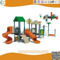 Commercial Outdoor Plastic Playground Equipment for Children Amusement Park