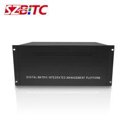 CCTV IP Camera Decoding Matrix RJ45 Network Modular Video Matrix Switcher Audio Video Matrix Switch for Projector