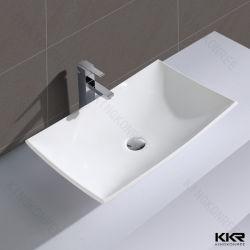 Bon Small Size Resin Stone Bathroom Countertop Vessel Sink