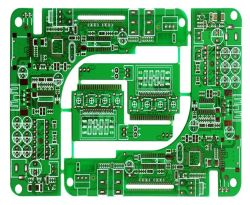 Auto Component Double-Sideed Rigid PCB with Green Solder Mask