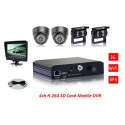 Factory Wholesale! ! ! 64GB 3G Vehicle CCTV Mobile 3G SD Mobile DVR