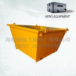 2m Sulfur Yellow Outdoor Standard Bin No Door