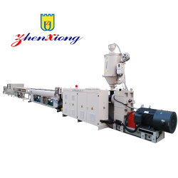 HDPE Large Diameter Gas and Water Supply Pipe Extrusion machinery