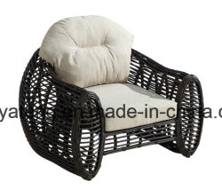 New Design Synthetic Rattan Outdoor Furniture Sofa for Garden & Hotel (YT609)