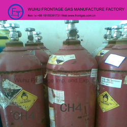 99.999% Purity CH4 Gas Bottle Methane