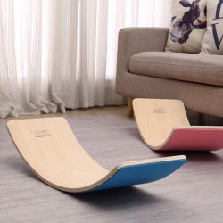 K4105 for Kids Safe Play and Sport Wooden Balance Board with Felt