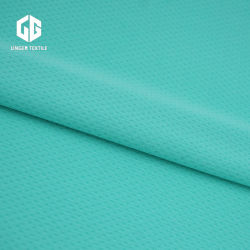 Textile Wholesales Polyester Breathable Mesh Fabric for Sportswear
