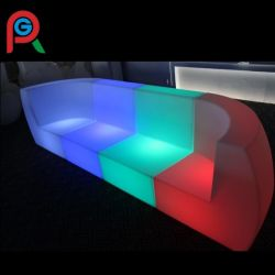 New Color Changing LED Light Sofa for Nightclub