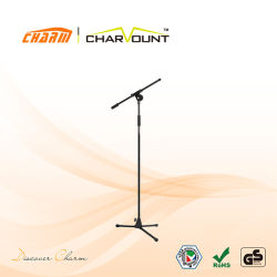 High Quality Hand Pression Valve Boom Microphone Stand (CT-MPS-1)