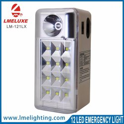 Rechargeable 12LED Emergency Sport Light with USB Output
