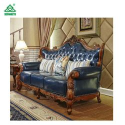Usa Style High Quality Antique Solid Wood Frame Sofa Chair Hotel Bedroom Furniture