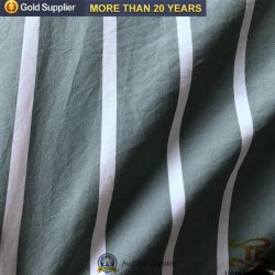 Hometextile Fabric Upholstery Polyester Stripe Yarn Dyed Fabric for Bed Sheet