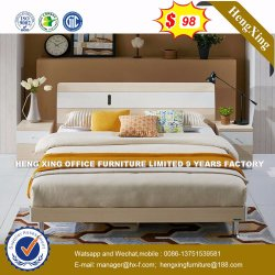 Wholesale Cheap Chinese Wood Double Bed Design Bedroom Furniture (HX-8NR0787)