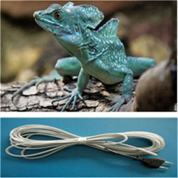 Electric Rope Heater with Silicone Reptile Heating Cable
