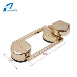 Custom High Grade Bag Metal Decorative Accessories Bag Twist Lock