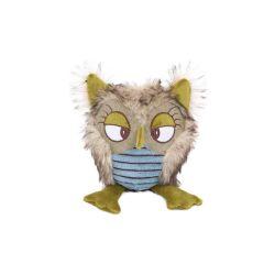 Organic Pet Products Wholesale Owl Shape Dog Plush Animal Toy