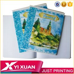 2017 China School Supply Stationery Factory School Notebook Wholesale Custom Print Exercies Book