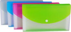 Portable Portfolio Document Bag Double Color Expanding File