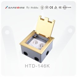 Brass Alloy Material Open Type Floor Boxes