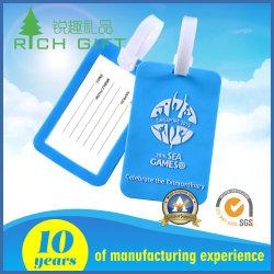 Manufacturer Customized Design Logo Plastic/Soft PVC Luggage Tag for Name Bag Holder