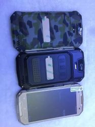 """A8+ Quad Core Android 5.1 512MB RAM 8GB ROM 5.0"""" Anti-Dust Shockproof Drop-Proof Smart Phone 4800mAh Army Green Color"""