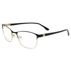 f9c4dff27cc 2019 Wholesale Fashion Products Latest Model Spectacle Frame Metal Optical  Glasses Frame for Women
