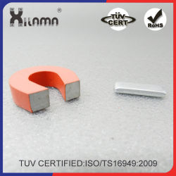 Red Cast Horseshoe Heavy-Duty AlNiCo Power Magnets for Education