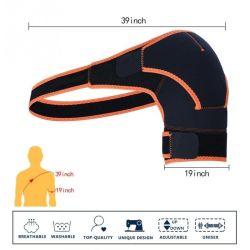 High Quality Adjustable Breathable Sports Single Shoulder Brace Support