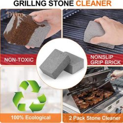 BBQ Grill Cleaning Brick Block Barbecue Cleaning Tool Stone BBQ Racks Stains Grease Cleaner Rocks Kitchen Decorates Gadgets