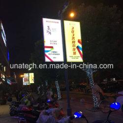 Street Light Pole/Post/Pillar pH4/P5/P6 Advertising Digital Media Screen Sign LED Display