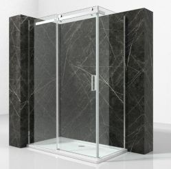 High Quality Hinged 8mm Toughened Glass Shower Enclosure Price 900