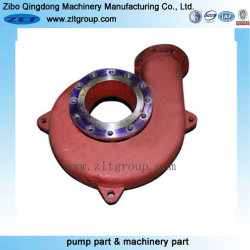 High Chrome Slurry Pump Body for Industry Made by Sand Casting