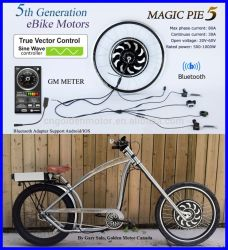 Ebike Rear Drive 500W-1000W Hub Electric Bike Motor Kit E-bike Conversion Kit